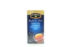 Чай чорн.Оранж Пекоє Маброк 75г