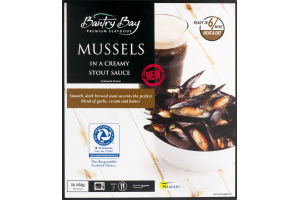 Bantry Bay Mussels in Creamy Stout Sauce