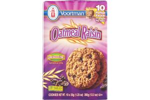 Voortman Oatmeal Raisin Cookies - 10 PK