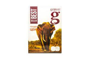 Чай черный листовой Golden Ceylon Bestseller Gr@ce к/у 100г