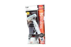 Станок Katana для гоління BST3-4PVA 3+1шт