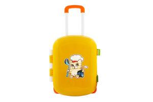 Набор игрушечный для детей от 3лет №6078 Кухня с набором посуды Технок 1шт