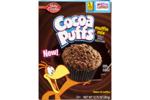 Betty Crooker Cocoa Puffs Muffin Mix