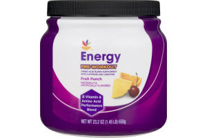 Ahold Energy Pre-Workout Fruit Punch