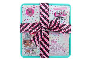 Набір ігровий для дітей від 3років №570707 Суперподарунок бірюзовий Present Surprise L.O.L. Surprise! 1шт