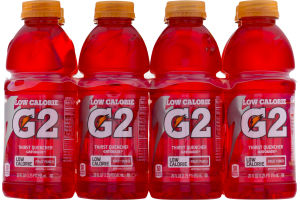 Gatorade G2 Series Low Calorie Fruit Punch Thirst Quencher- 8 CT