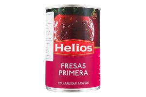 Клубника Helios в легком сиропе