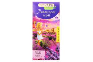 Чай Лавандовые мечты Lovare herbs к/у 20*1.8г/уп