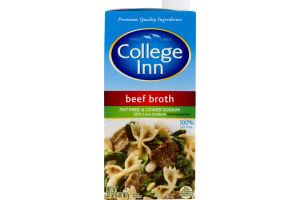 College Inn Fat Free & Lower Sodium Beef Broth