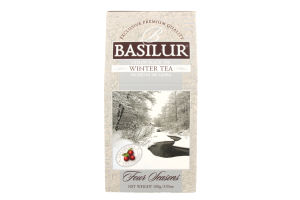 Чай черный Зима Четыре сезона Basilur к/у 100г