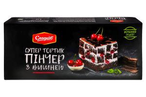 Торт Сладков Пинчер с вишней
