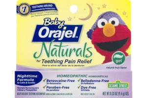 Baby Orajel Naturals for Teething Pain Relief