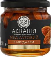Мед натуральний квітковий луговий з мигдалем Асканія с/б 250г