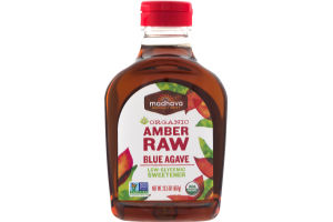 Madhava Organic Amber Raw Blue Agave Sweetener
