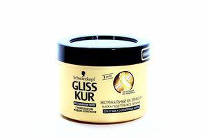 Маска Gliss Kur д/волосся Екстримальний OIL еліксир 200мл х6