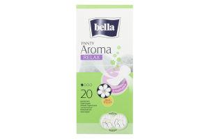 Прокладки Panty Aroma Relax Bella 20шт