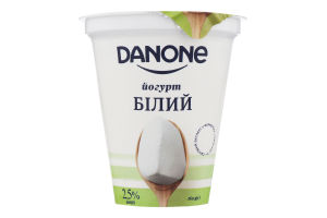 Йогурт 2.5% білий Danone ст 260г