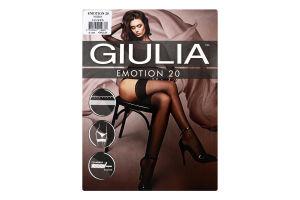 Панчохи жіночі Giulia Emotion 20den XS/S nero