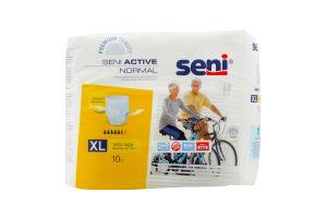 Підгузки для дорослих SENI ACTIVE Normal extra large №10 шт
