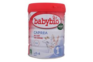 Смесь из козьего молока для детей 0-6мес Caprea 1 Babybio ж/б 800г