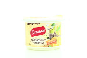 Йогурт Дольче Фруктова корзина Груша-апельсин 3,2% 120г х12