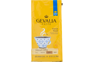 Gevalia Kaffe French Roast Ground Coffee Dark