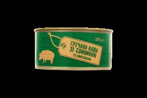 Каша гречневая со свининой стерилизованная
