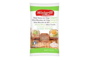 Тости Minigrill пшеничні з цільного зерна 90г х20