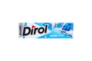 Резинка жевательная без сахара Ледяная мята Dirol м/у 14г