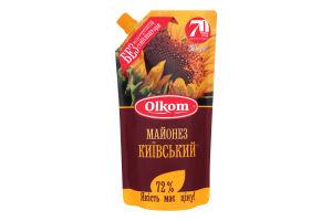 Майонез 72% Киевский Olkom м/у 360г