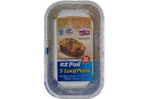 EZ Foil Loaf Pans 3x5 - 5 CT