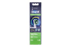 Насадки змінні для електричної зубної щітки Cross Action CleanMaximiser Oral-B 2шт