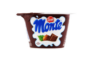 Десерт 13.3% молочний з шоколадом і лісовими горіхами Monte Zott 150г