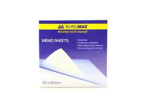 Блок паперу Buromax для нотаток 80*80мм 400арк. ВМ.2233