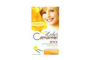 Воск для эпиляции лица Ванильный Lady Caramel 12шт