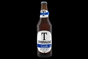 Пиво 0.5л 4.1% светлое пастеризованное Svitle Тернопільське бут