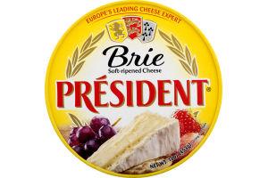 President Brie Soft-Ripened Cheese Wheel 16oz