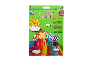 Олівці кольорові CFS Sunbow 18шт. CF03103