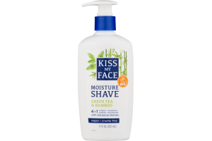 Kiss My Face 4in1 Moisture Shave Green Tea & Bamboo