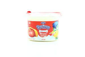 Продукт йогуртный 1,5% персик Растишка 115г