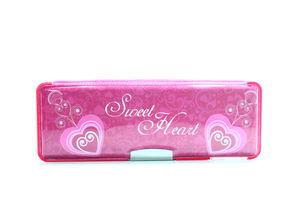 Пенал Sweet Heart пласт. на магніті з чинкою