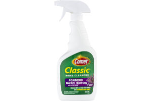 Comet Classic Home Cleaners Foaming Bath Spray Lavender Scent
