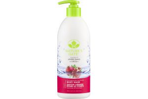 Nature's Gate Body Wash Pomegranate Sunflower