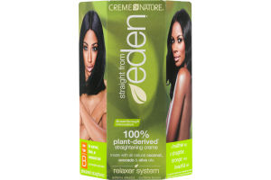 Creme of Nature Straight from Eden Relaxer System Hair Type B