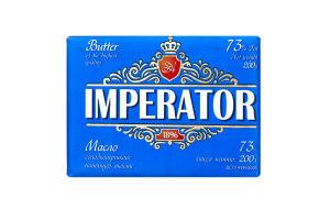 Масло 73% сладкосливочное Крестьянское Imperator м/у 200г