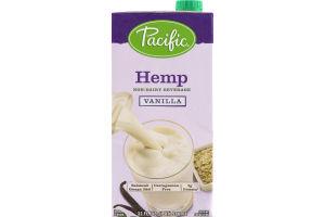 Pacific Hemp Beverage Vanilla