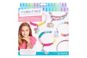 Набір для дітей від 8років для створення шарм-браслетів №MR1317 Літня насолода Make It Real 1шт