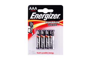 Батарейка Енергджайзер Base AAА (мініпальчики) (4шт/уп)