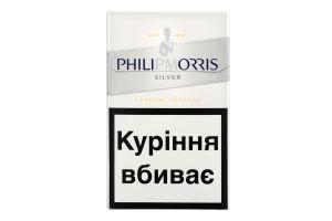 Сигарети з фільтром Philip Morris Silver 20шт