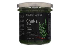 Салат из морских водорослей Чука классическая Silver Food с/б 250г